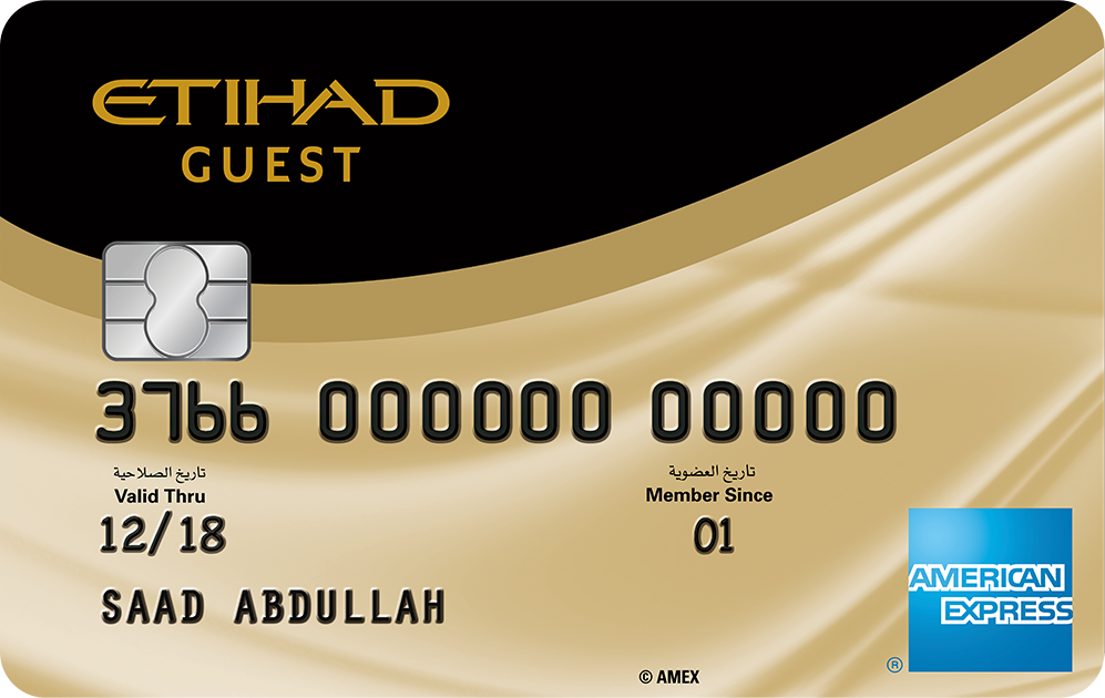 The Etihad Guest American Express® Gold Credit Card | American ...